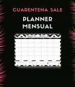 Planner mensual sin fecha