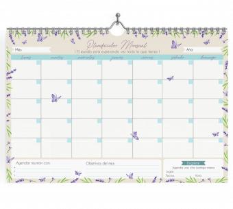Planner Mensual de escritorio
